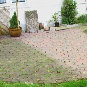 Terrasse reinigen ganz einfach
