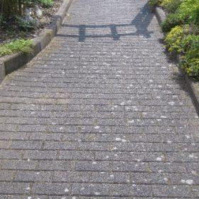 Pflasterweg vor AGO Quart