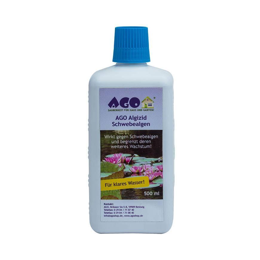 Fabelhaft AGO Algizid Schwebealgen beseitigt Schwebealgen und Blaualgen @BL_99